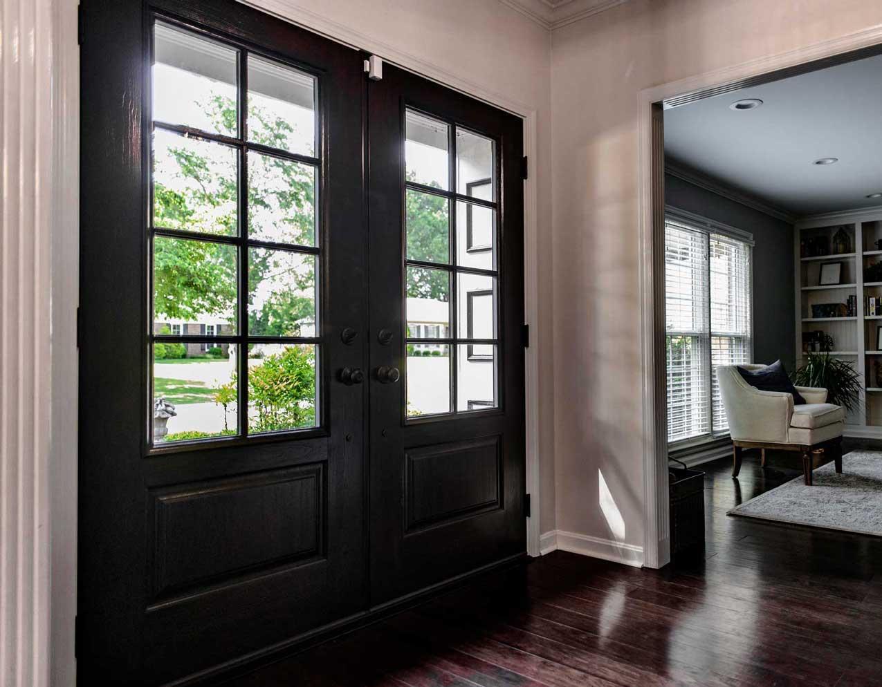 We work to ensure your home is left just the way we found it, but with a fabulous new door!
