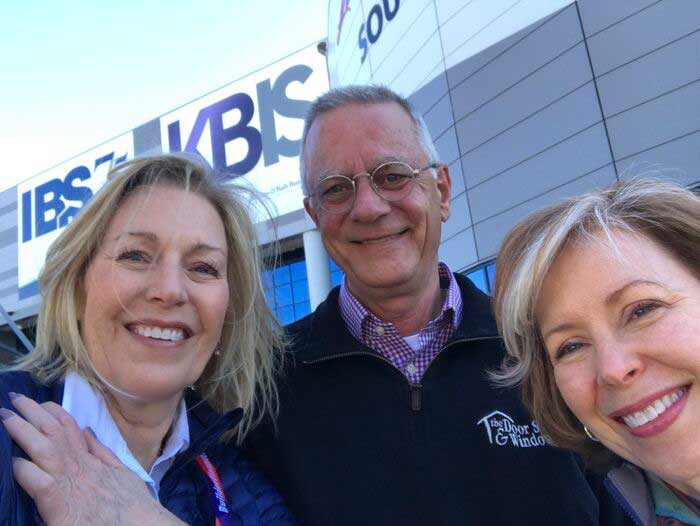 Ann, Laurie and Don at IBS Las Vegas
