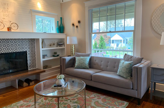 Image of window and couch set up.